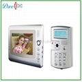 7 inch video door phone color intercom system