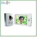 7 inch TFT color handfree video door phone intercom systems