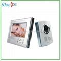7 inch plastic camera night vision video door phone  V7D-S