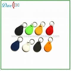 Access control RFID proximity key tag TK4100 or S50 key chain K001