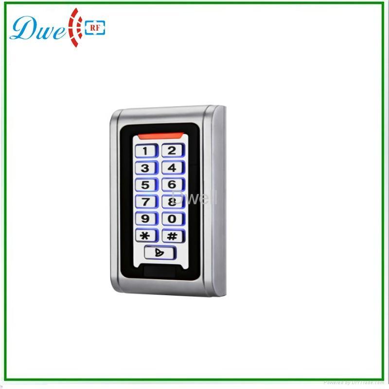 Waterproof metal standalone access control D008-C2 1