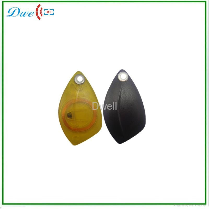 contactless proximity ABS keytag rfid keyfob access control system  2