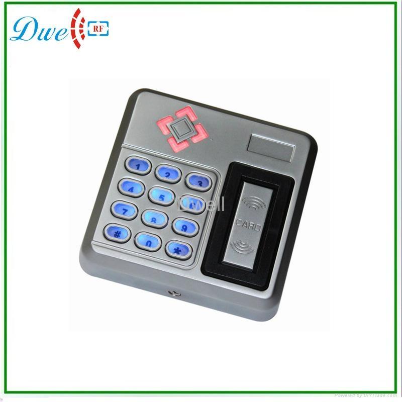 9 to 24V access control metal keypad rfid reader waterproof IP68 1