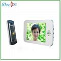 "7""video phone intercom system with pin-hole camera  V7I-M"