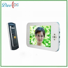"7""video phone intercom s"