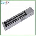 Single door magnetic lock detect door