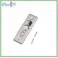 Stainless steel exit button push button