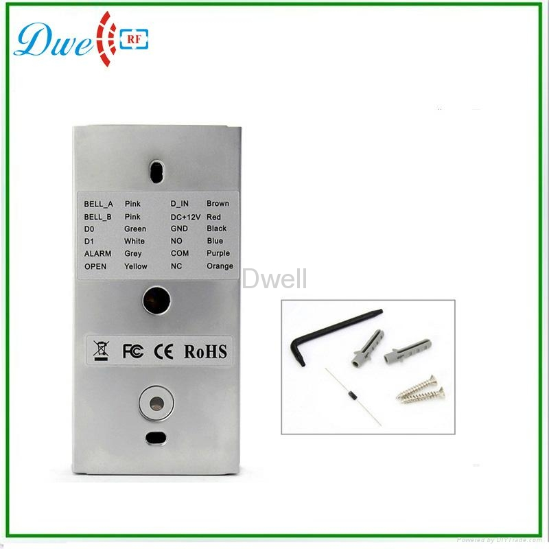 Waterproof metal standalone access control D008-C2 3