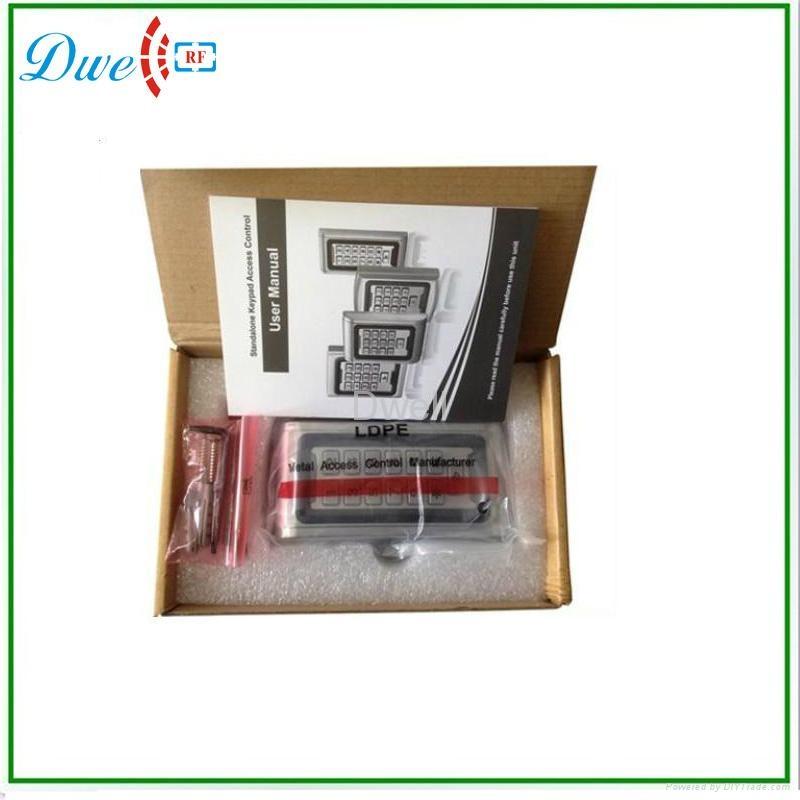 Waterproof metal standalone access control D008-C2 4