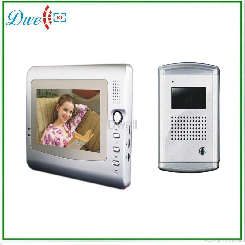 7 inchTFT LCD monitor handfree  video door phone