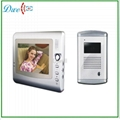 7 inchTFT LCD monitor handfree  video door phone