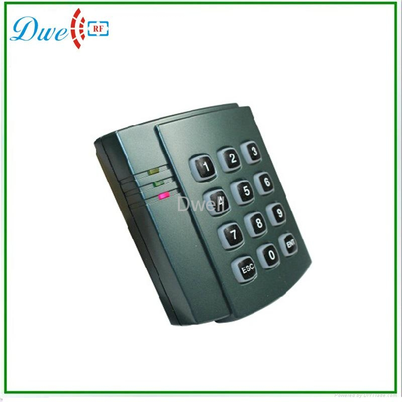 passive access  control keypad reader wiegand output  2