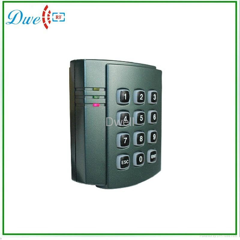 passive access  control keypad reader wiegand output  3