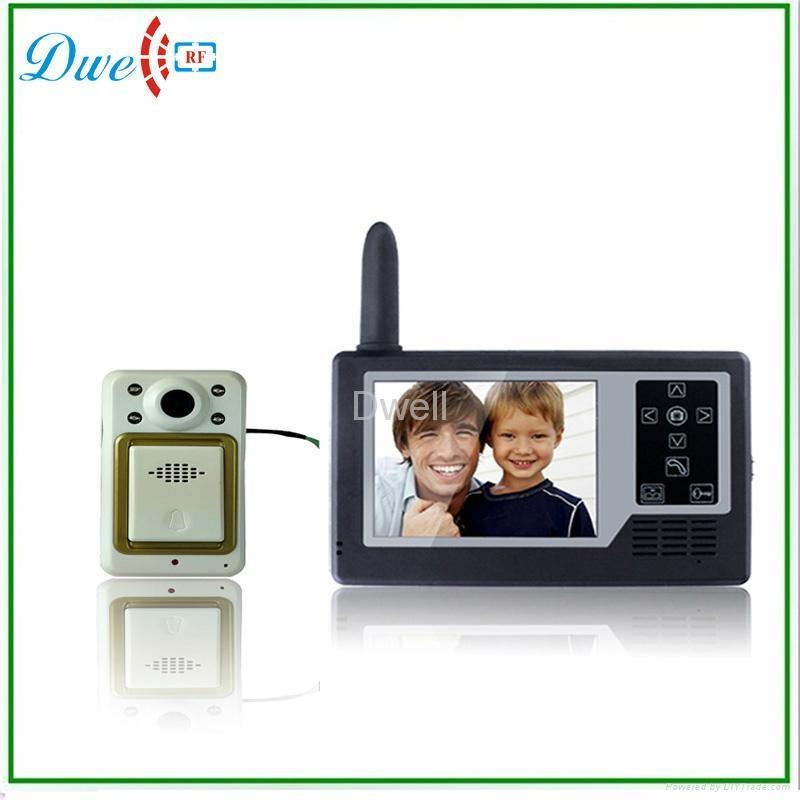 3.5 inch Wireless Video Door Phone Viewer Camera Digital Peephole Door Viewer  3