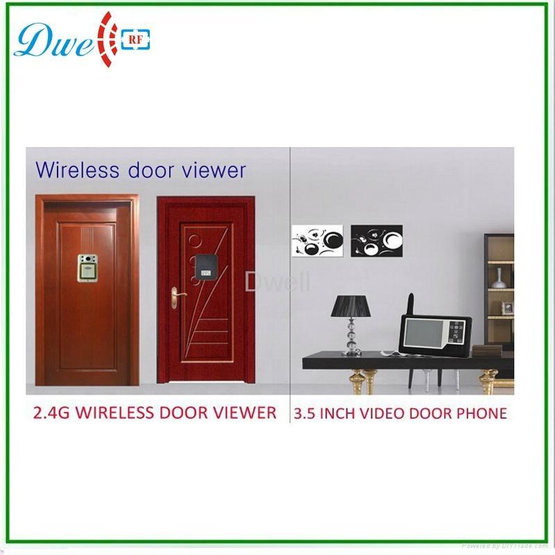3.5 inch Wireless Video Door Phone Viewer Camera Digital Peephole Door Viewer  4