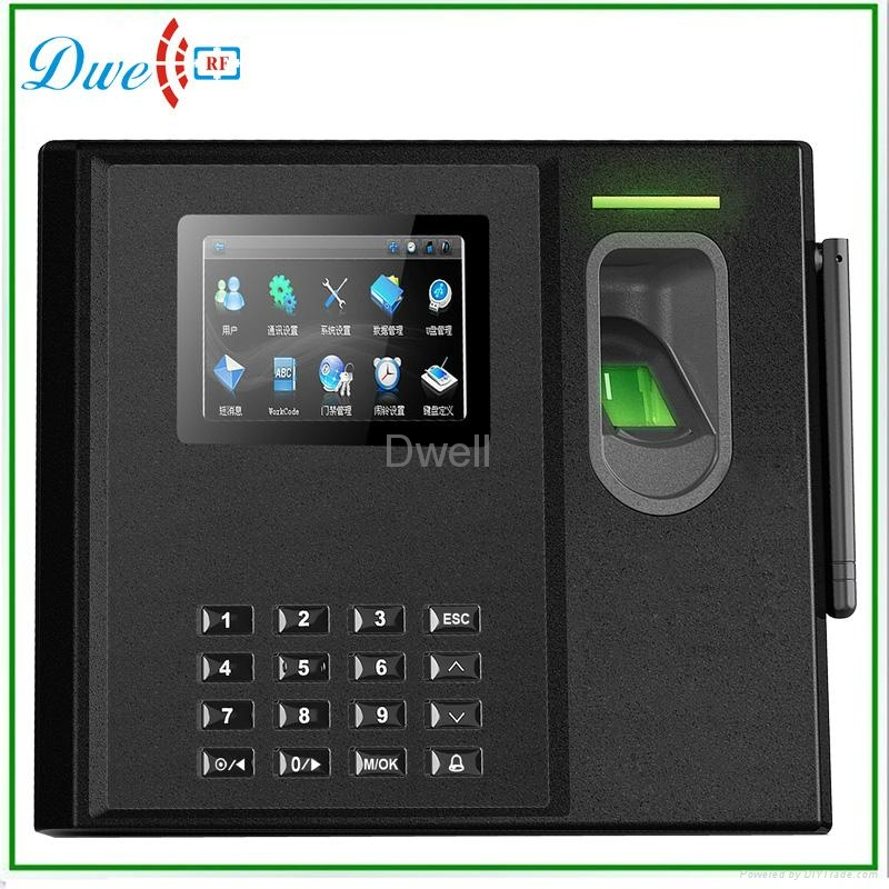 Fingerprint Time  Attendance biometric with bulit in battery  1