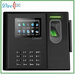 Fingerprint Time  Attendance biometric with bulit in battery