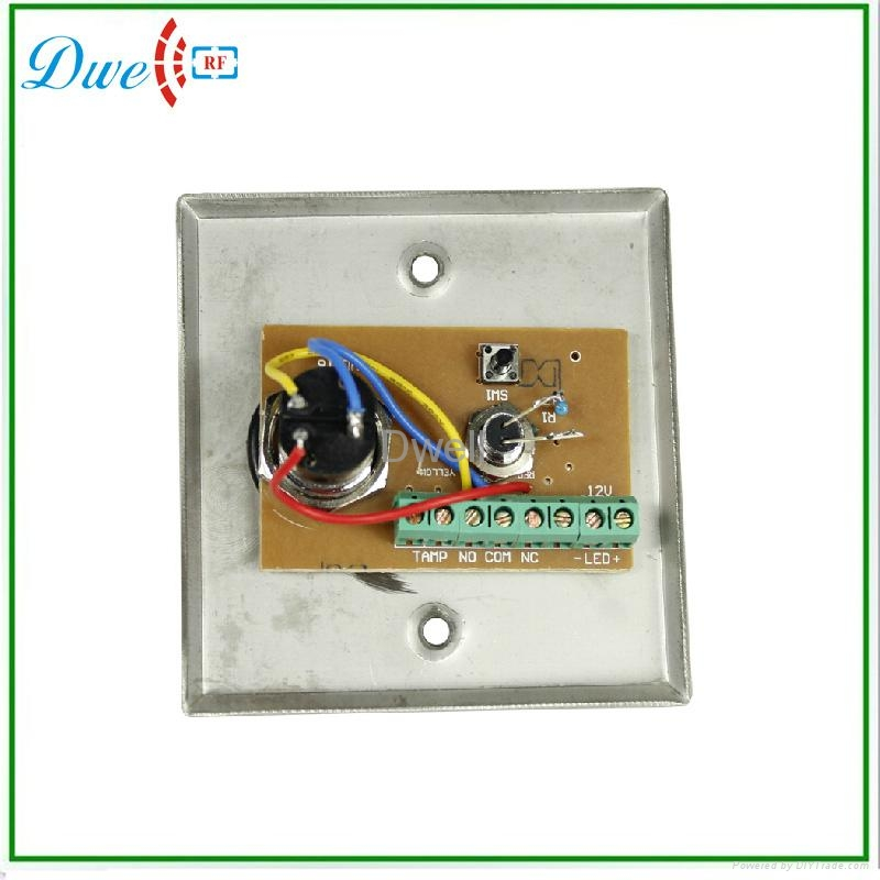 key switch with LED indicator push button switch 5