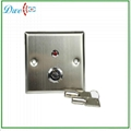 key switch with LED indicator push