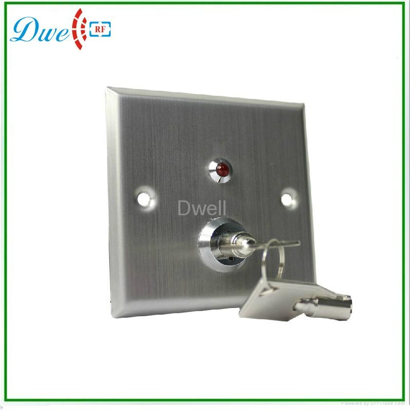 key switch with LED indicator push button switch 2