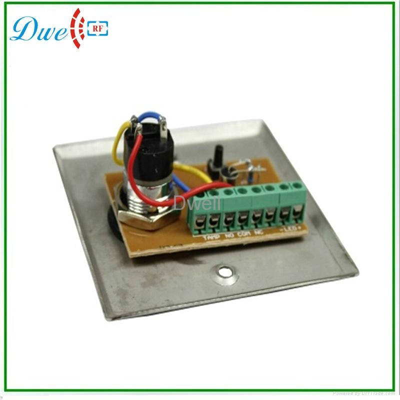 key switch with LED indicator push button switch 4