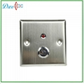 key switch with LED indicator push button switch 3