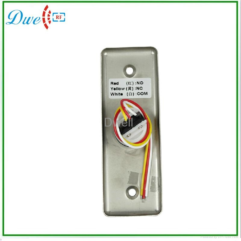 Push button switch no nc  for access contol  4