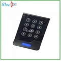 New design touch screen keypad reader
