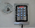 Metal case  waterproof standalone access control D008-C1