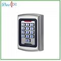 Metal housing waterproof standalone access control D008-C101