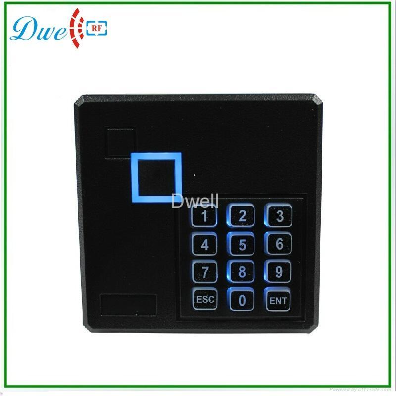 密码门禁读头 门禁密码读头ID一体机   RFID门禁读头  WG26读头 3
