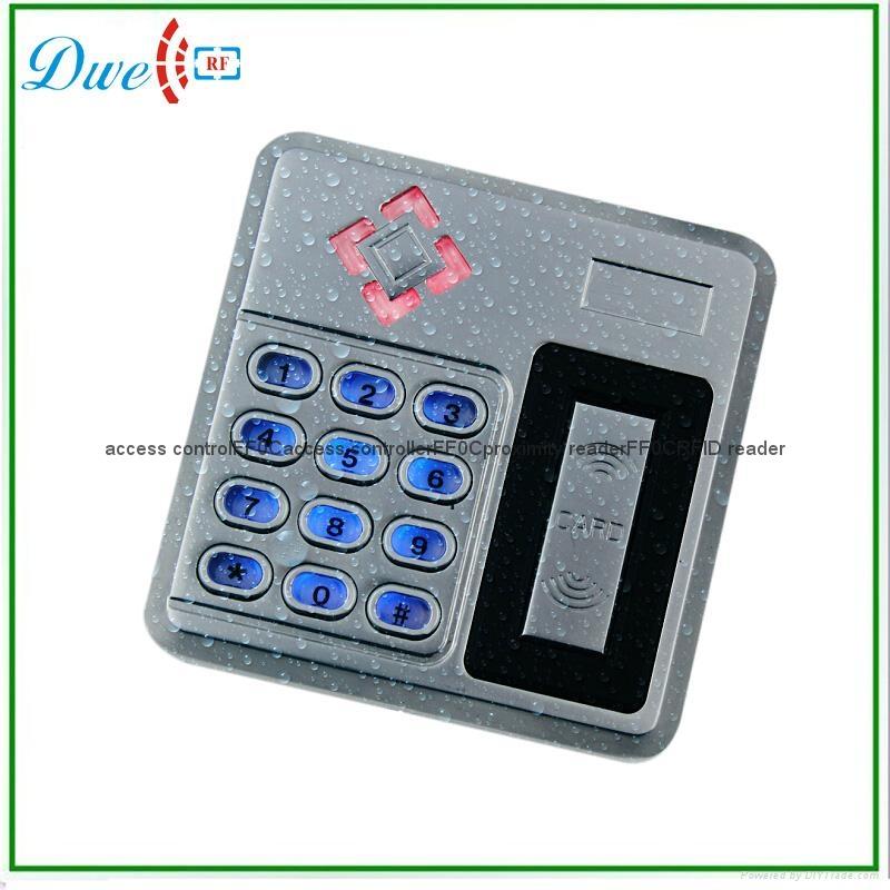 access control metal single door standalone access controller IP68 2000 users   3