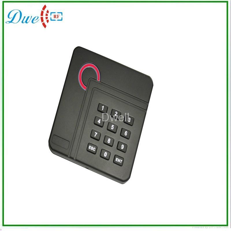 RFID門禁讀頭ID 125K門禁讀卡器  13.56M讀頭 正方形門禁讀頭 1