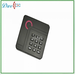RFID门禁读头ID 125K门禁读卡器  13.56M读头 正方形门禁读头