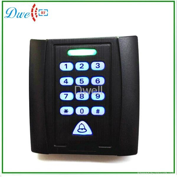 backlight keypad single door standalone access controller  500 users 2