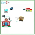 2.4Ghz directional active reader for school system  5