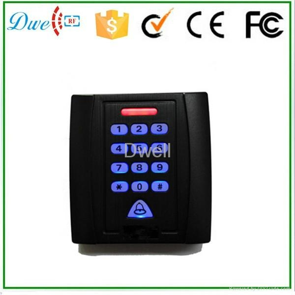 backlight keypad single door standalone access controller  500 users 1