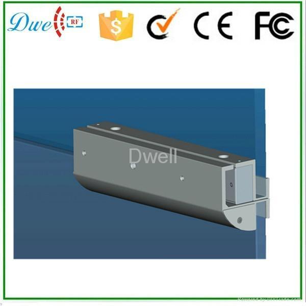 magnetic lock GZ Bracket for Fully Frameless Glass Door 2