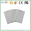 125khz 1.8MM thick clamshell  access control card