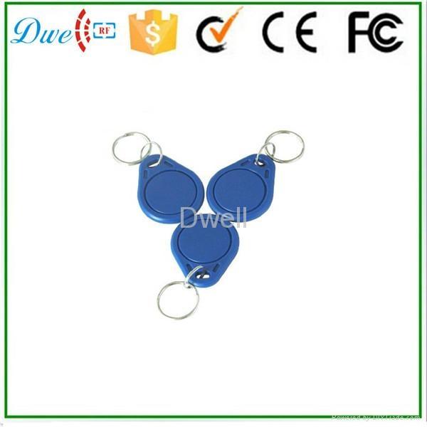 Access control RFID proximity key tag TK4100 or S50 key chain K001     2