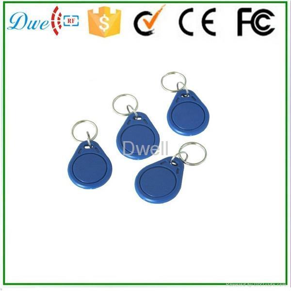 Access control RFID proximity key tag TK4100 or S50 key chain K001     3