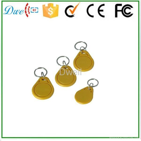 Access control RFID proximity key tag TK4100 or S50 key chain K001     14