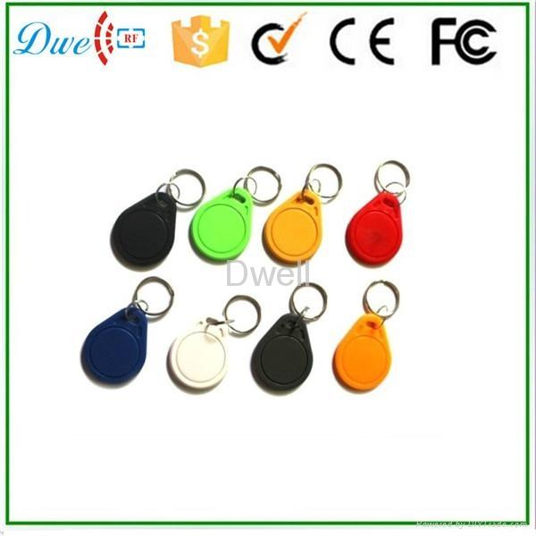Access control RFID proximity key tag TK4100 or S50 key chain K001     11