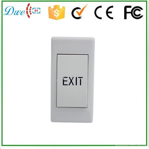 mini plastic door release exit button switch push button  2
