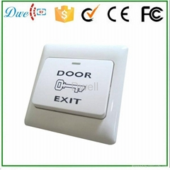 Door Exit Push Release Button Switch for Access Control Electric Lock DW-B01