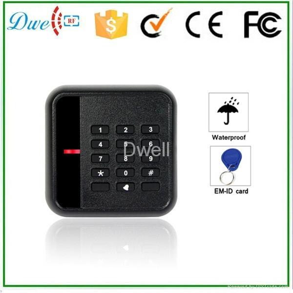 2014最新款密码读卡器ID IC 门禁读卡器 1