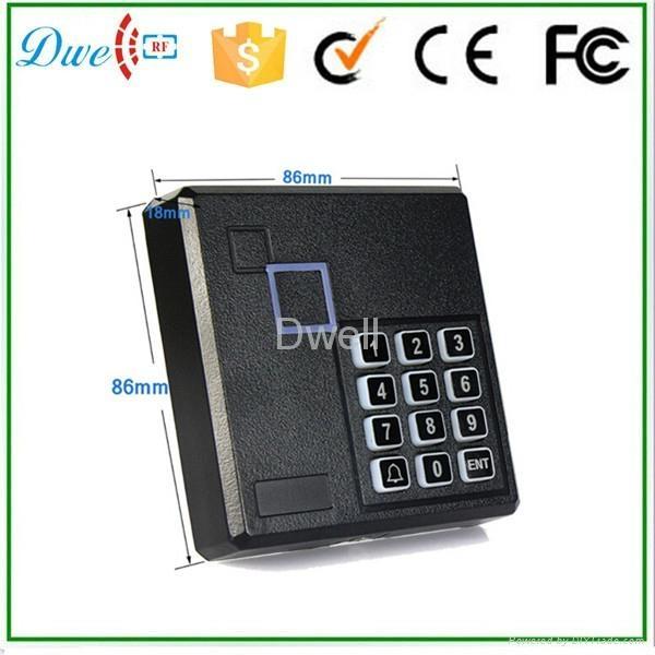 密码门禁读头 门禁密码读头ID一体机   RFID门禁读头  WG26读头 2