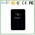 keypad touch screen access control card