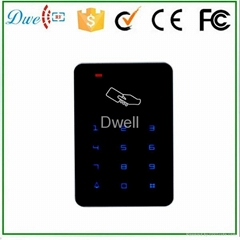keypad touch screen access control card reader