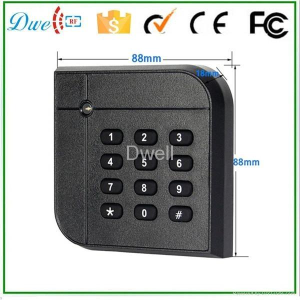 2014 新款 ID IC WG26 WG34密碼讀卡器 門禁系統 2